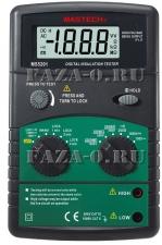 MS5201 Mastech мегаомметр цифровой купить