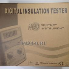 Мегаомметр цифровой MS5201 цена