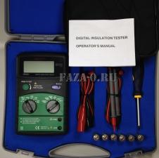 Измеритель сопротивления изоляции MS5201 Mastech цена