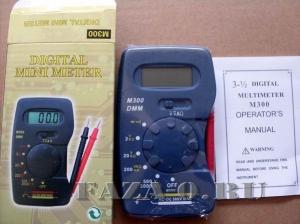 Мультиметр DT300 купить