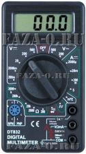 DT832 (DT) мультиметр цифровой