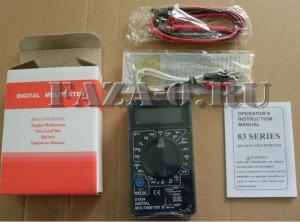 DT838 (DT) мультиметр цифровой