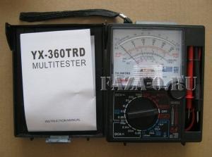 YX360TRD (DT) мультиметр стрелочный