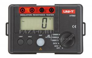 UT502 (UNI-T) мегаомметр цифровой