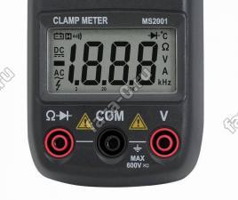 MS2001 клещи технические характеристики
