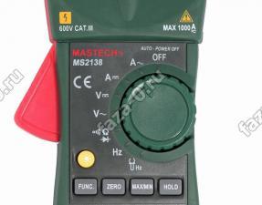 Клещи Mastech MS2138 цена