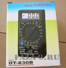 DT830B мультиметр цифровой