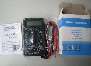 DT832 мультиметр цифровой