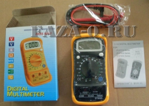 DT850L мультиметр цифровой