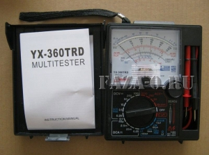 YX360TRD мультиметр стрелочный