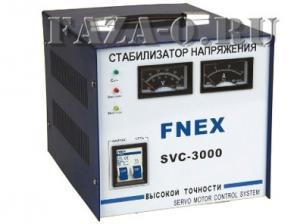 SVC-3000 стабилизатор напряжения однофазный