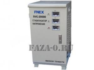 SVC-20 kVA стабилизатор напряжения трёхфазный