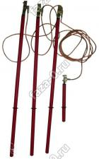 ЗПЛ-10-3-25мм2 заземление переносное для ВЛ купить